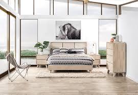 Bedroom Furniture Portland Portland 4 Piece Queen Bedroom Suite With Tall Chest Amart Furniture