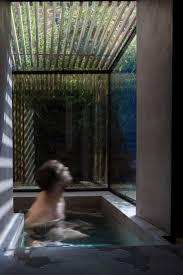 Sunken Bathtub Sunken Washroom By Studio 304 Allows Residents To Bathe In The Garden
