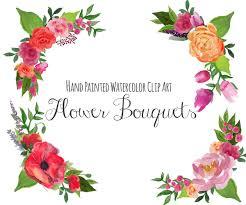 wedding flowers clipart floral clip floral bouquet floral frame clipart wedding