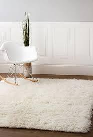 amazon com hand woven soft wool flokati shag rug 5 feet by 7 feet