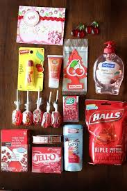 themed gifts colorful gift basket ideas a girl and a glue gun