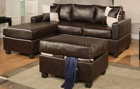 Small Leather Sofa With Chaise Gorgeous Small Sectional Leather Sofa Brown Leather Sectional