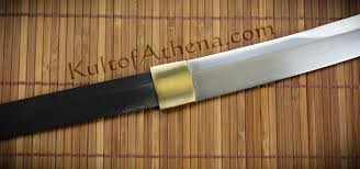 folded steel kitchen knives krsfng kris cutlery naginata blade folded steel 124 95
