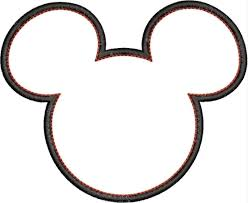 Disney Pumpkin Carving Patterns Mickey Mouse by Mickey Mouse Head Outline Maybe Do As A Stencil And Paint In A