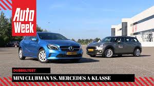 mercedes mini mini clubman vs mercedes a klasse autoweek dubbeltest