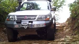 lifted mitsubishi montero pajero did bodylift 5cm 315 75 16 youtube