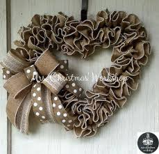 burlap wreaths this is a heart shaped burlap wreath with pearl edges