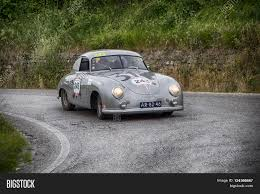 old porsche race car porsche 356 1500 coupé 1952 pesaro image u0026 photo bigstock