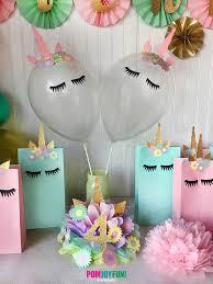 unicorn party supplies unicorn balloons set of 2 unicorn party balloons 11 inch