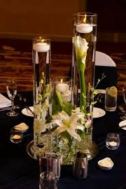 Wedding Centerpieces Floating Candles And Flowers by 13 Best Deco Table Images On Pinterest Wedding Flowers
