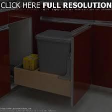 Kitchen Cabinet Trash Can Cabinet Kitchen Trash Can Tehranway Decoration