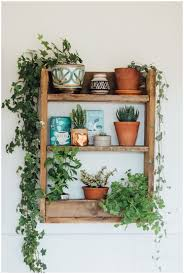 plant shelf christmas decor mid century plant stand plant shelves