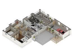 3d floor plan rendering do your amazing 3d floor plan rendering fiverr