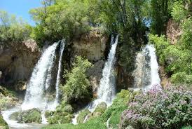 Colorado waterfalls images Rifle falls colorado day hikes near denver jpg