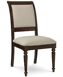 Straight Back Chairs Dining Room Chairs Macy U0027s