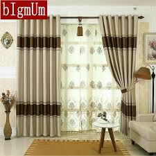 Hotel Room Darkening Curtains Blackout Curtains For Living Room Hotel European Simple Design