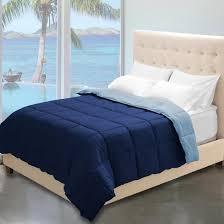 reversible premium ultra soft down alternative comforter dark