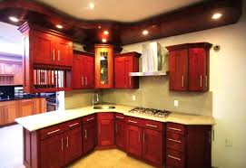 red cabinets in kitchen red cherry wood kitchen cabinets kitchen design and isnpiration