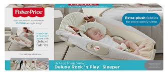 Can Baby Sleep In Vibrating Chair Amazon Com Fisher Price My Little Snugapuppy Deluxe Rock U0027n Play