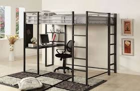 full bunk bed with desk and dresser u2014 modern storage twin bed