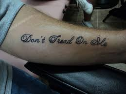 don u0027t tread on me tattoo by spellfire42489 on deviantart