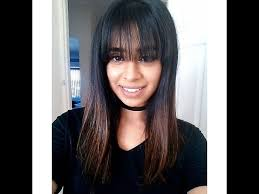 hairstyles with fringe bangs hairstyles to hide fringe bangs youtube