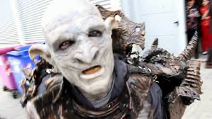 Lord Rings Halloween Costume Lord Rings Orc Cosplay Romics