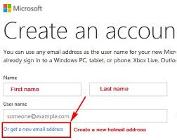 hotmail signup login sign in help