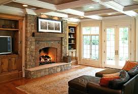brick fireplace ideas uk photos country living room with and plaid