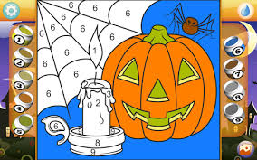 halloween coloring book pro android apps google play