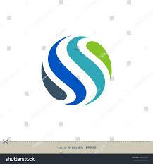 ornamental globe vector logo template stock vector 746977339