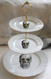 tiered halloween cakes 3 tiered skull cake stand halloween cake stand halloween