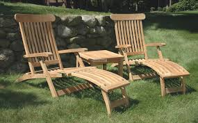 innovative teak chaise lounge outdoor furniture free chair plans