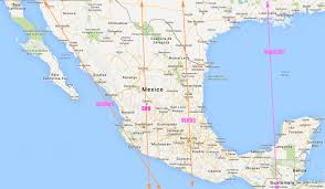 Southern Mexico Map by La Casa 1 Dream Home