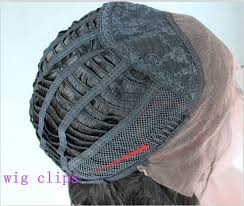 Sisir Wig black brown color lace wrap 6 teeth combs wire comb wig add