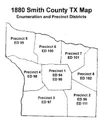 Texas Precinct Map 1880 Precincts U0026 Enumeration Districts