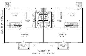 multi unit house plan 196 1034 4 bedrm 2040 sq ft per unit home