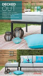 Jcpenney Outdoor Rugs Tap To Shop Outdoor Rugs And Patio Pillows Add Instant Color