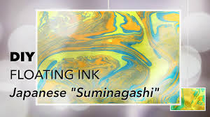 diy floating ink suminagashi kid fun craft youtube