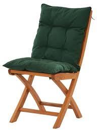 coussins de chaises de cuisine coussin de chaise jardin confort fauteuil vert olive 12 couleur