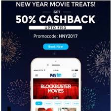 movie tickets upto 100 cashback on paytm