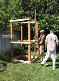 Diy Backyard Swing Set Everyday Art Diy Wooden Swing Set