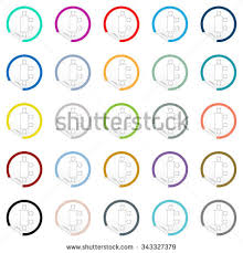 sofa icon on sticker floor plan stock vector 352082786 shutterstock