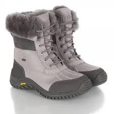 ugg australia womens black grey adirondack boots ugg r grey adirondack womens ankle boot