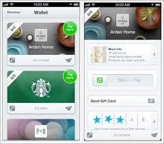 gift cards app square gift cards synch with apple passbook mobile