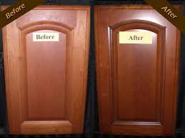 Kitchen Cabinet Painting Kit Image Of Kitchen Cabinet Refacing Before And After Two Tone