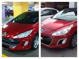 peugeot turbo 308 the peugeot 308fl the lion gets botox treatment kensomuse