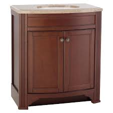 Solid Surface Vanity Tops For Bathrooms by Style Selections Delyse Auburn Common 31 In X 19 In Integral