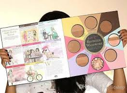 professional makeup books fashion faced the black book of bronzers blush