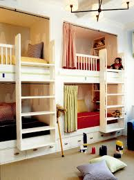 Four Bunk Bed Furniture Amazing Built In Four Bunk Bed Design With